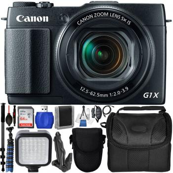 Canon PowerShot G1 X Mark II Digital Camera - 9167B001 with Deluxe 14p