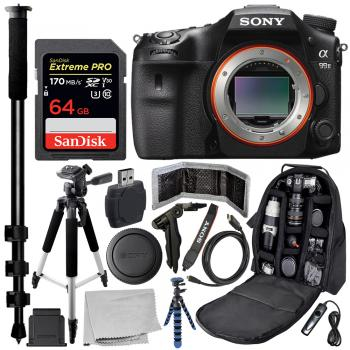 Sony Alpha a99 II DSLR Camera - ILCA-99M2 with Deluxe Bundle