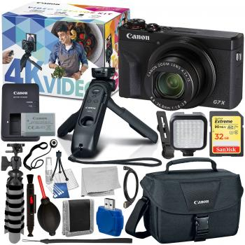 Canon PowerShot G7 X Mark III Digital Camera Video Creator Kit - 3637C