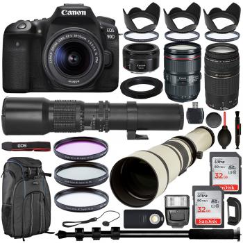Canon EOS 5D Mark IV DSLR Camera with Canon 24-105mm USM - 1483C010 50