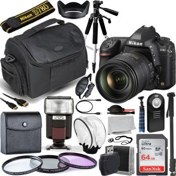 Nikon D780 DSLR Camera with 24-120mm f/4G ED VR Lens with Essential Accessory Bundle