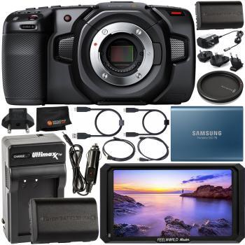 Blackmagic Design Pocket Cinema Camera 4k Cinecampochdmft4k With Starter Accessory Bundle Slrhut Co Uk