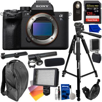 Sony Alpha a7S III Mirrorless Digital Camera (Body Only) with Essentia