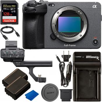 Sony FX3 Full-Frame Cinema Camera with Basic Accessory Bundle - Includ