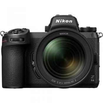 Nikon Z 6II Mirrorless Digital Camera with 24-70mm f/4 Lens