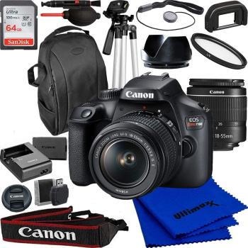 Canon EOS Rebel T100/4000d DSLR Camera with 18-55mm f/3.5-5.6 Zoom Len