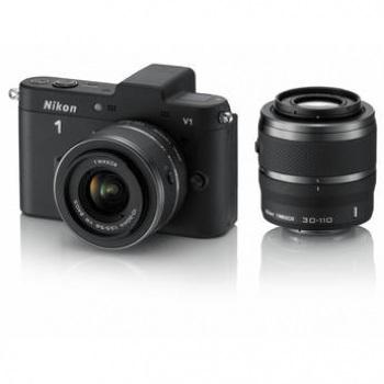 Nikon 1 V1 Double Kit (10-30mm)(30-110mm) Black