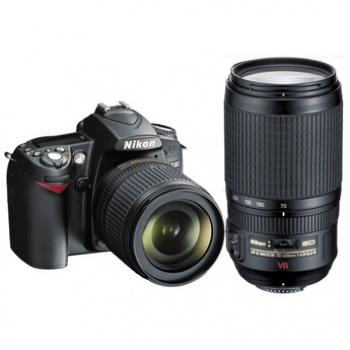 product IDC VBAKG Nikon D Digital SLR Camera With AF S DX  mm And G VR Lenses