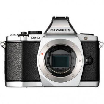 Olympus OM D E M5 Micro Four Thirds Digital Camera Body (Silver)