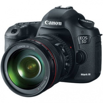 Canon EOS 5D Mark III DSLR Camera Kit with Canon 24-105mm f/4L IS USM AF Lens