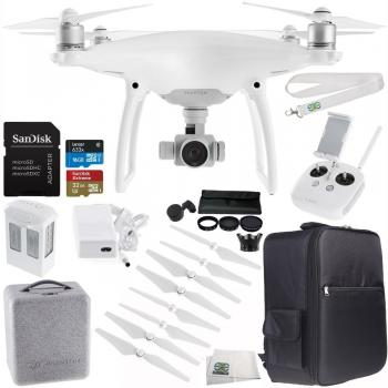 DJI Phantom 4 Drone + Ultimate Bundle