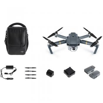 DJI Mavic Pro 4K Quadcopter Fly More Combo