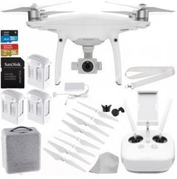 DJI Phantom 4 PRO Quadcopter Drone with Professional Bundle