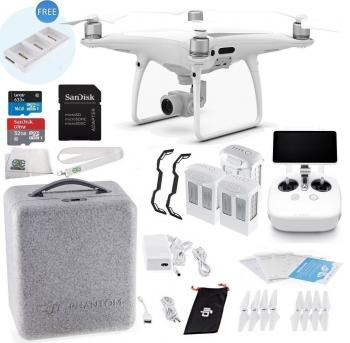 DJI Phantom 4 PRO+ (Plus) Quadcopter Drone Executive Bundle (With Remote and Screen Built-in)