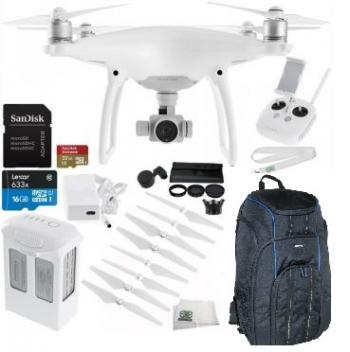 DJI Phantom 4 Drone + Professional Bundle