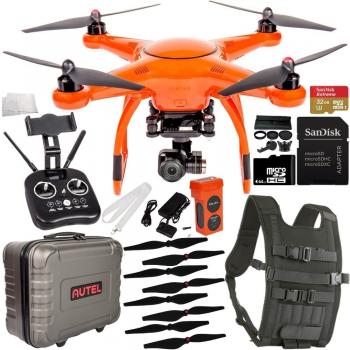 Autel Robotics X-Star Premium Quadcopter (White) with 4K Camera and 3-Axis Gimbal Starter Bundle
