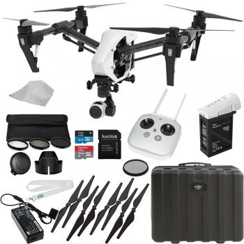 DJI Inspire 1 V2.0 Quadcopter With Single Remote + Starters Bundle