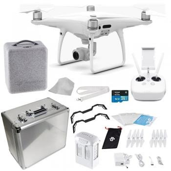 DJI Phantom 4 PRO Quadcopter Starters Aluminum Case Travel Bundle
