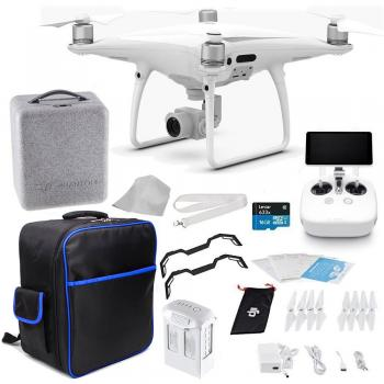 DJI Phantom 4 PRO+ (Plus) Quadcopter Starters On-The-Go Bundle