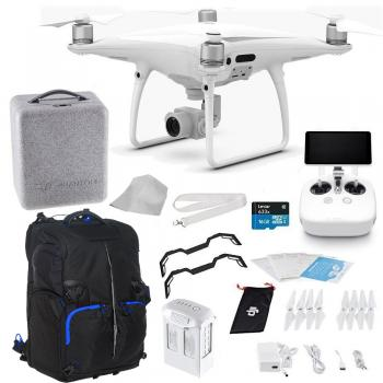 DJI Phantom 4 PRO+ (Plus) Quadcopter Starters Backpack Bundle
