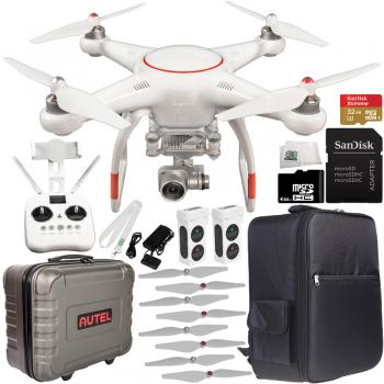 Autel Robotics X-Star Premium Quadcopter (White) with 4K Camera and 3-Axis Gimbal Ultimate Bundle