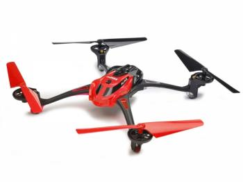 La Trax Alias Quad Rotor Helicopter RTF 2.4GHz - Red