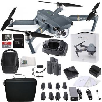 DJI Mavic Pro FLY MORE COMBO 4K Quadcopter Soft Case Bundle