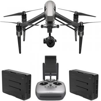 DJI Inspire 2 Premium Combo with Zenmuse X7 and CinemaDNG and Apple ProRes Licenses