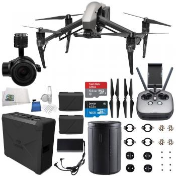 DJI Inspire 2 Quadcopter + Zenmuse X7 Starters Bundle