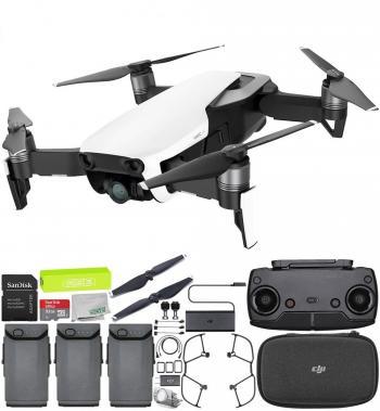 DJI Mavic Air Drone Quadcopter (Arctic White) Ultimate Bundle