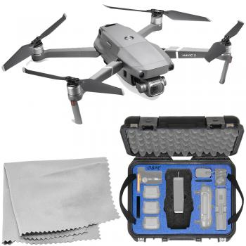 DJI Mavic 2 Pro Foldable Quadcopter with Go Professional Hard-Shell Case Bundle