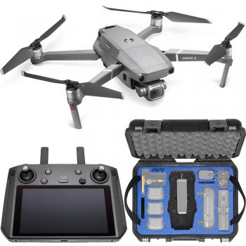 DJI Mavic 2 Pro Foldable Quadcopter with Smart Controller & Go Professional Hard-Shell Case Bundle