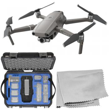 DJI Mavic 2 Zoom Foldable Quadcopter with Go Professional Hard-Shell Case Bundle