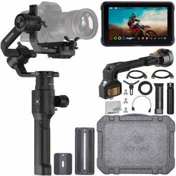 DJI Ronin-S - CP.ZM.00000103.02 with PolarPro Monitor Mount and Access