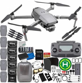 DJI Mavic 2 Pro Drone Quadcopter - CP.MA.00000019.01 5-Battery Ultimat