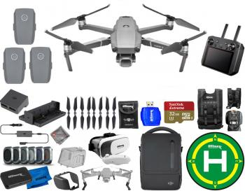 DJI Mavic 2 Pro ALL YOU NEED Mega Bundle with Smart Controller and Fly