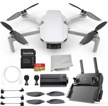 DJI Mavic Mini Portable Drone Quadcopter Starters Bundle - CP.MA.00000