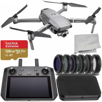 DJI Mavic 2 Zoom Foldable Quadcopter with DJI Smart Controller - CP.MA