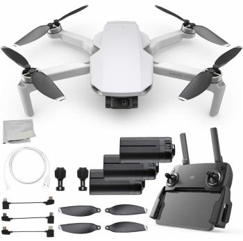 DJI Mavic Mini Portable Drone Quadcopter Ultimate Battery Bundle - CP.
