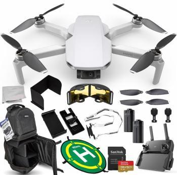 DJI Mavic Mini Portable Drone Quadcopter Ultimate 128GB 2-Battery Bund
