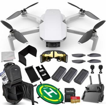 DJI Mavic Mini Portable Drone Quadcopter Ultimate 128GB 3-Battery Bund