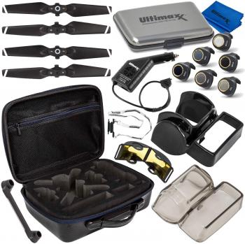 Ultimaxx Must-Have Accessory Bundle for Use with DJI Spark Foldable Qu