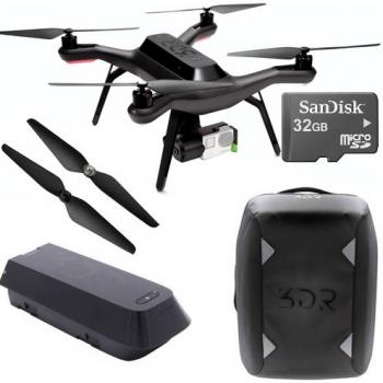 3DR Solo Quadcopter with Gimbal + Essential Bundle