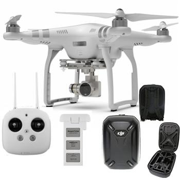 DJI Phantom 3 Advanced Quadcopter with 2.7K Camera and DJI Hardshell Backpack