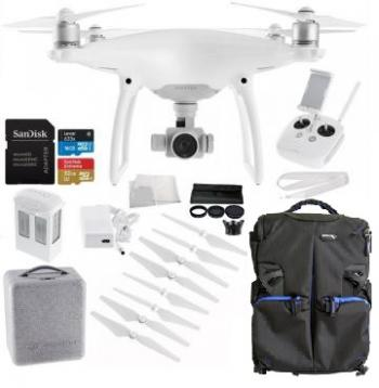 DJI Phantom 4 Drone + SLRHut Exclusive Bundle