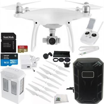 DJI Phantom 4 Drone + Essential Bundle