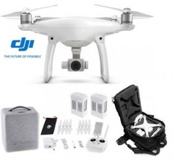DJI Phantom 4 Drone + Spare Battery + FREE CASE
