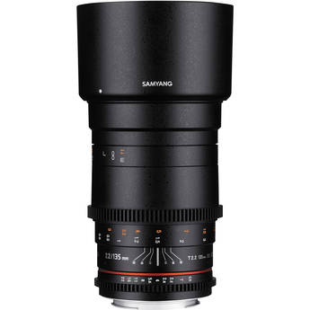 Samyang 135mm T2.2 AS UMC VDSLR II Lens for Micro Four Thirds Mount