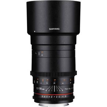 Samyang 135mm T2.2 AS UMC VDSLR II Lens for Sony Alpha Mount