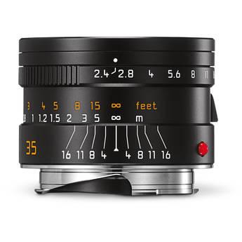 Leica Summarit-M 35mm f/2.4 ASPH Lens (Black)